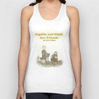 legolas Tank Tops featuring Legolas and Gimli Are Friends by James E. Hopkins