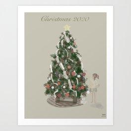 Christmas 2020 - Toilet Paper Garland Art Print