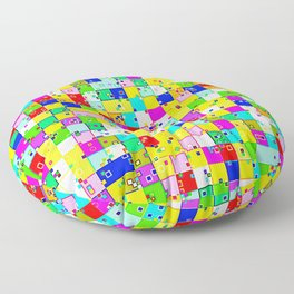 Nice small city Floor Pillow