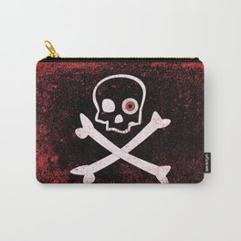 Jolly Roger With Eyeballs Carry-All Pouch
