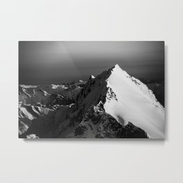 Black and White Aerial I Metal Print