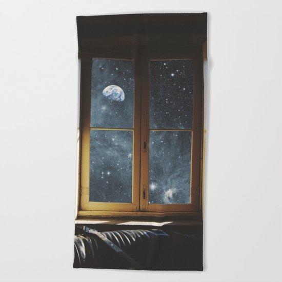WINDOW TO THE UNIVERSE Beach Towel