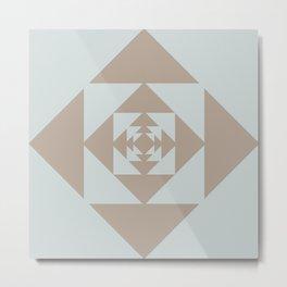 Desert Rose (Dust) Metal Print