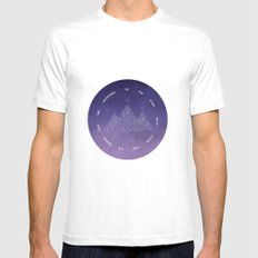 To The Stars Who Listen And The Dreams That Are Answered Mens Fitted Tee White MEDIUM