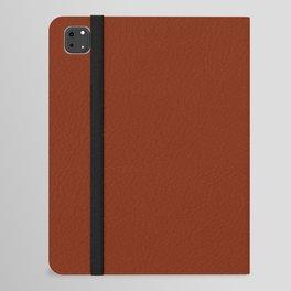 Brick Red, Solid Red iPad Folio Case