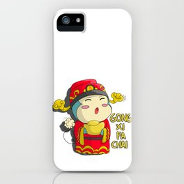 Bukuma: Chinese New Year Edition iPhone Case