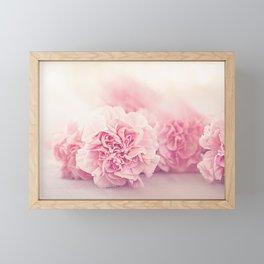 Pale Pink Carnations 4 Framed Mini Art Print