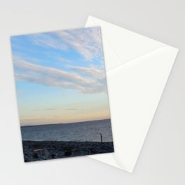 Watercolor People in Nature, NSS, Photography 02, Cape Breton, Nova Scotia, Canada Stationery Cards