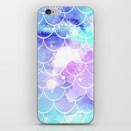 Galaxy Mermaid Scales iPhone Skin