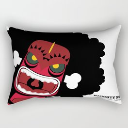 Naughty Notii Rectangular Pillow