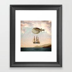 The Big Journey Framed Art Print