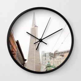 The Transamerica Pyramid San Francisco Wall Clock