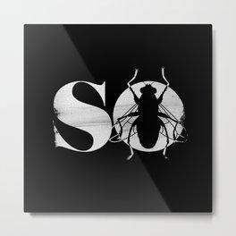 So Fly Metal Print