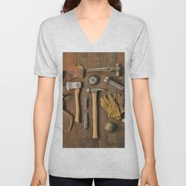 Tools (Color) Unisex V-Neck