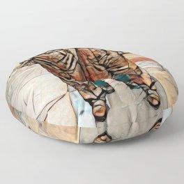 Women of Steel, Sheffield, UK Floor Pillow