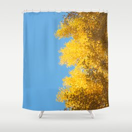 fall crush Shower Curtain