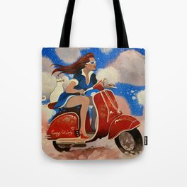 CRAZY CAT LADY by Raphaël Vavasseur Tote Bag