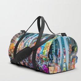 Times Square Tourists Duffle Bag