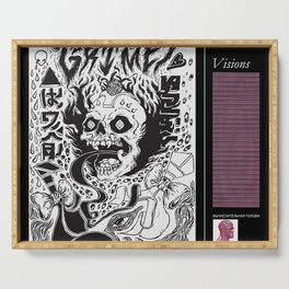 grimes - visions cover art - Serving Tray
