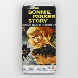 Cigar Smoking Hellcat of the Roaring Thirties iPhone Skin