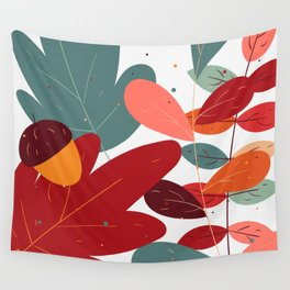 Autumn Vibes Wall Tapestry