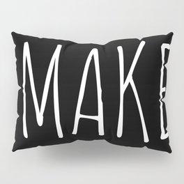 #Maker Pillow Sham