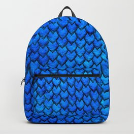 Mermaid Scales - Blue Backpack
