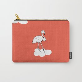 Flying Flamingo by McKenna Sanderson Carry-All Pouch