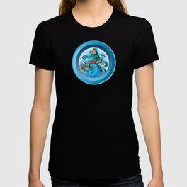 Surfing Werewolf T-shirt