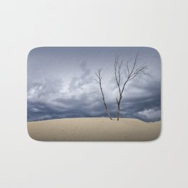 Wind Swept Clouds over the Dunes Bath Mat