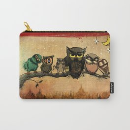 Midnight Owls Carry-All Pouch