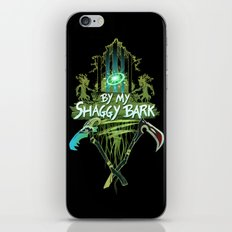 By My Shaggy Bark! iPhone & iPod Skin