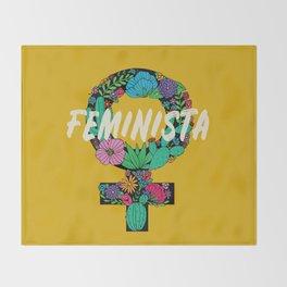 Feminista Throw Blanket