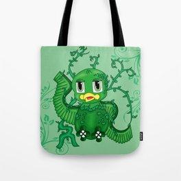 Poison Ivy Bird Tote Bag
