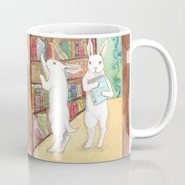 Bookstore Bunnies Coffee Mug