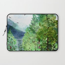 Mountain Forest Laptop Sleeve