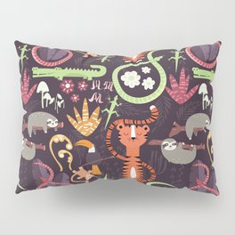 Rain forest animals 002 Pillow Sham