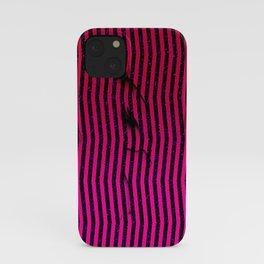 Abstract Hidden Figures iPhone Case
