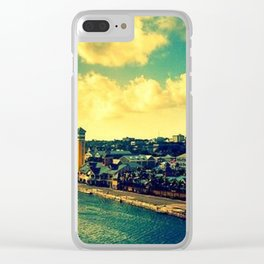 Nassau The Bahamas Clear iPhone Case