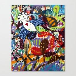 Indie Angel Canvas Print