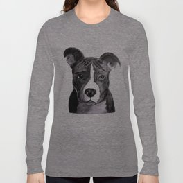 Pit Bull Dogs Lovers Long Sleeve T-shirt