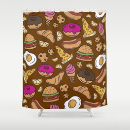Foodie Shower Curtain