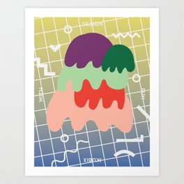 Design With Fun ~ chapter 03 Art Print