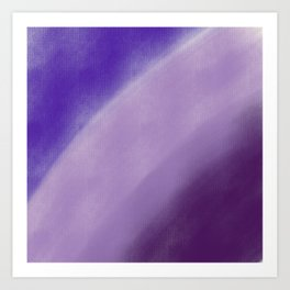 Tree Things Abstract Canvas 6 Art Print