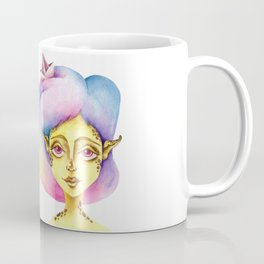 """Rainbow hair"" Coffee Mug"