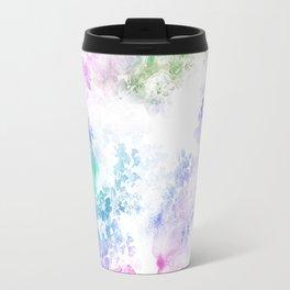 Watercolor Meander Travel Mug