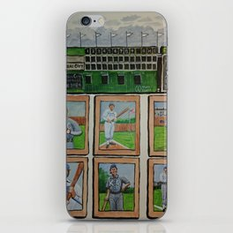 Kansas City Baseball Since 1884 iPhone Skin