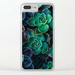 Succulent fantasy Clear iPhone Case