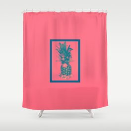Pineapple Express Shower Curtain