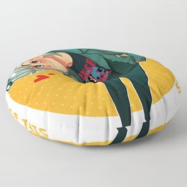 Sweet Dreams Are Made of This Floor Pillow
